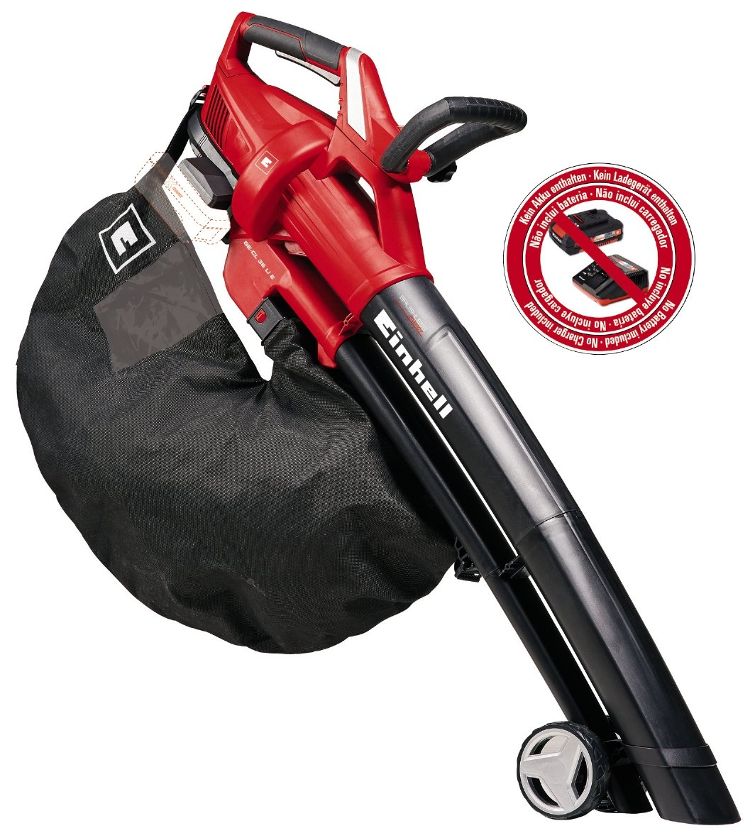 Einhell GE-CL 36 LI E Solo Power X-Change Cordless Leaf Blower, 36 V, Red 3433600