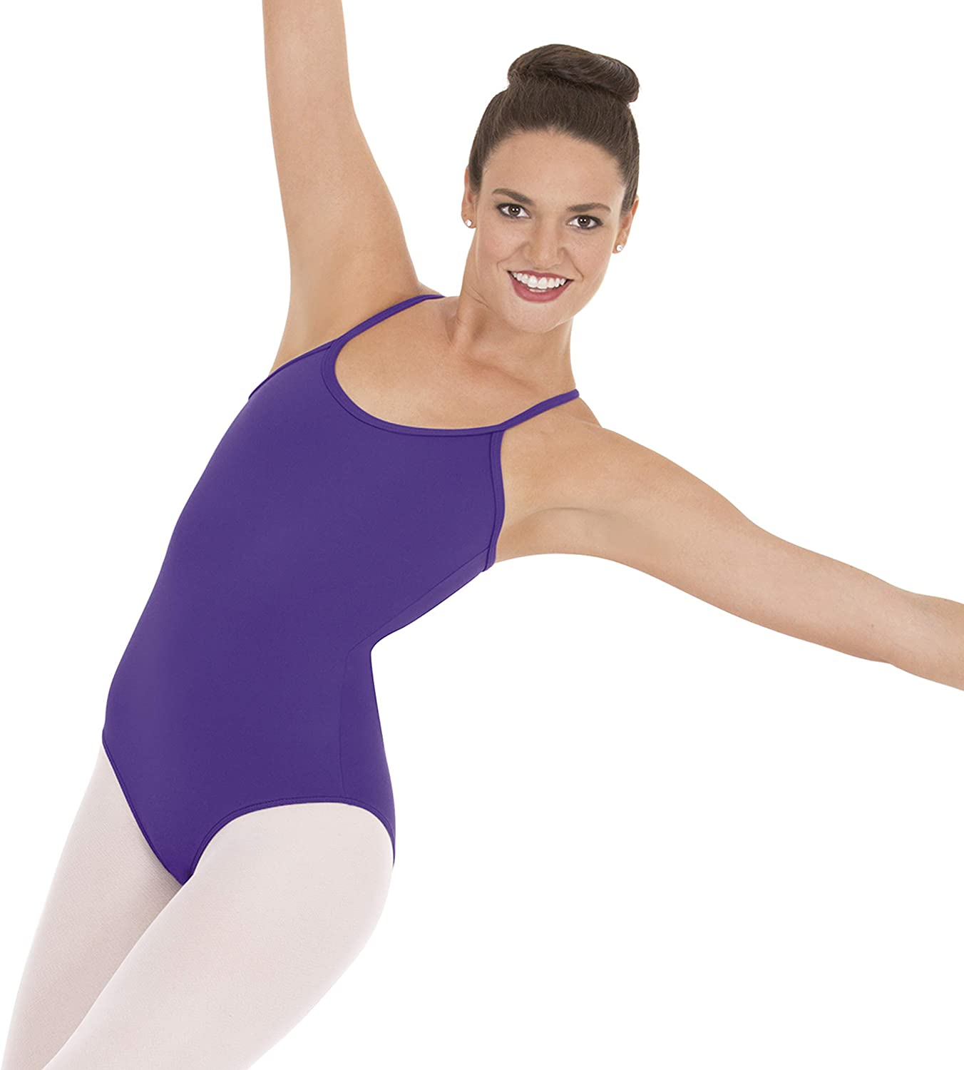 44819 Eurotard Womens Adjustable Camisole Leotard with Tactel Microfiber