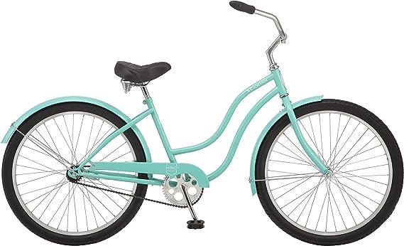 Schwinn Mikko Bicicleta Cruiser para mujer, ruedas de 26 pulgadas, múltiples velocidades, varios colores: Amazon.es: Deportes y aire libre