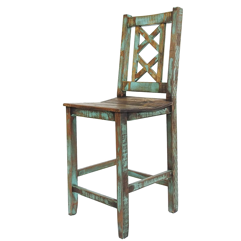 Sensational Amazon Com Rustics For Less Lc Ban 01 Cabana Bar Stool Creativecarmelina Interior Chair Design Creativecarmelinacom