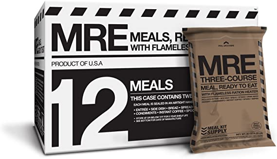 Meal Kit Supply Premium Fresh MREs Meal with Heaters by Meal Kit ...