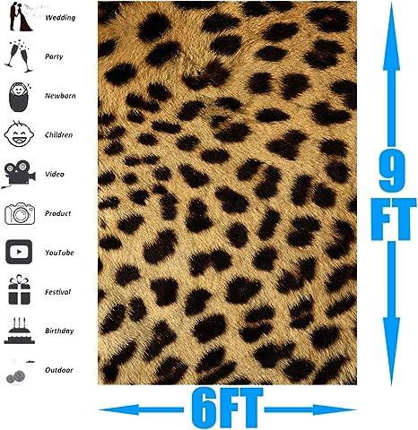 Lylu169 Fotohintergrund Mit Leopardenmuster 1 8 X 2 7 Kamera