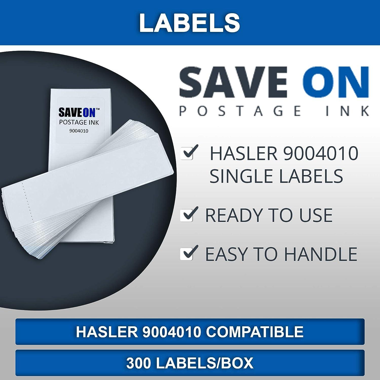 Hasler Postage Meter Labels 6 x 1 9//16 5000 6000 Hasler IM420 IM440 IM460 IIM480 IM490 IM5000 IM6000 for IS420 IS440 IS460 IS480 IS490 IN600 IN700 IN750 Save On Postage Ink