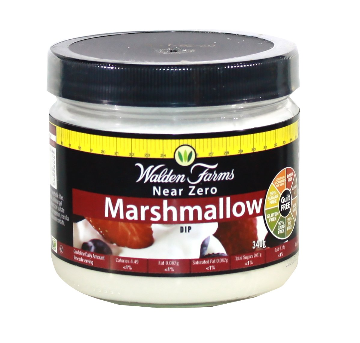 Walden Farms Marshmallow Dip, 12-Ounce Bottles (Pack of 6)