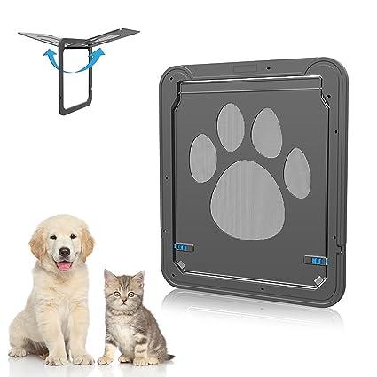 Amazon Dog Door Screen Door Nuoyo Pet Cat Door Automatic Lock