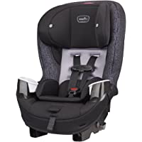 Evenflo Stratos 65 Convertible Car Seat, 2 Car Seats in 1, Forward / Rear Facing Car Seat, Air Flow Vents, Removable…