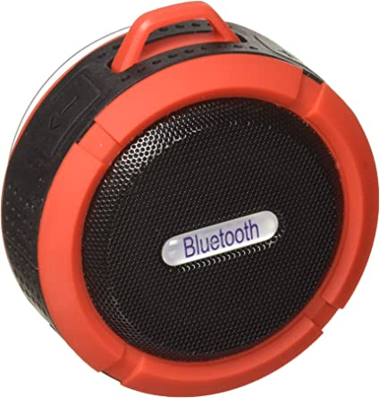Wireless Bluetooth Shower Speaker - Portable Waterproof Music Player with  Suction Cup Mount and Rechargeable Battery - Hands Free Speakerphone and