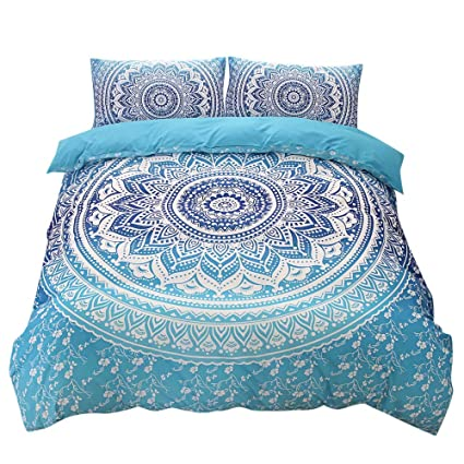Amazon.com: Bed Sheets Set - 3-Piece Bed Set - Iuhan Bohemian ... on gold bed sheets, bush bed sheets, peace bed sheets, cross bed sheets, easter bed sheets, crystal bed sheets, indian bed sheets, alchemy bed sheets, majestic bed sheets, man bed sheets, bug bed sheets, moroccan style bed sheets, science bed sheets, circle bed sheets, drawing bed sheets, painting bed sheets, buddha bed sheets, ankh bed sheets, starfish bed sheets, dream bed sheets,