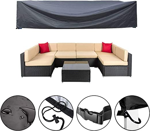 Mr.You - Funda para muebles de patio, fundas impermeables para ...