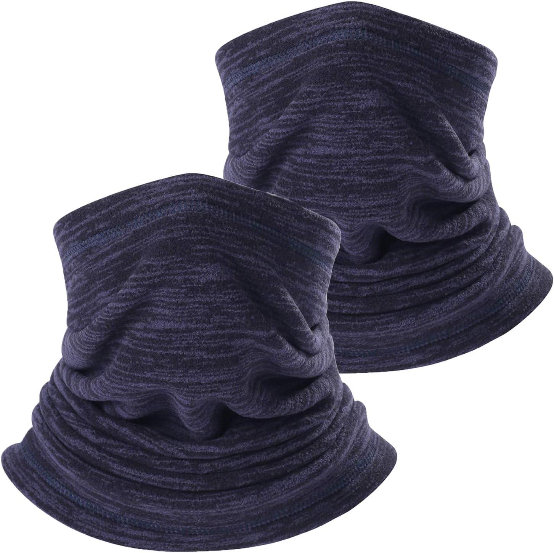 TAGVO Chapeau Cagoule Chaud dhiver Chapeau d/écharpe de Couverture de Visage Cagoule de Ski de Course Thermique Coupe-Vent pour Hommes Femmes Bonnet Cache-Cou /élastique