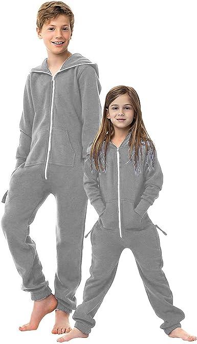 Eshal Fashion Mono unisex para niños, pijama suave para niños, para dormir, todo en uno