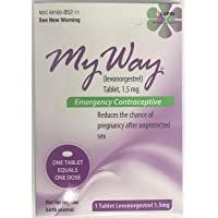 Lupin My Way Emergency Contraceptive Levonorgestrel Tablet 1.5 mg