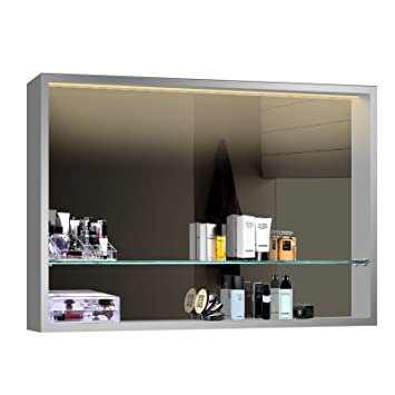 Lux Aqua Design Badezimmer Spiegel Spiegelschranke Spiegelregal Led