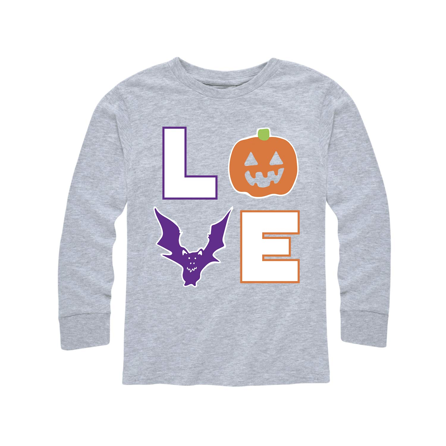 Instant Message Love Halloween - Toddler Long Sleeve Tee Air Waves