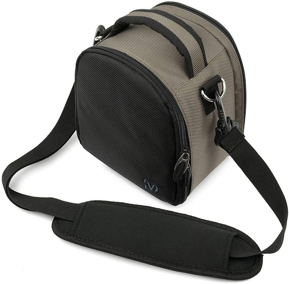 Water Resistant Protective Camera Lens Black Bag with Shoulder Strap for Sigma DP0 DP1 DP2 DP3 Quattro SD1 Merrill