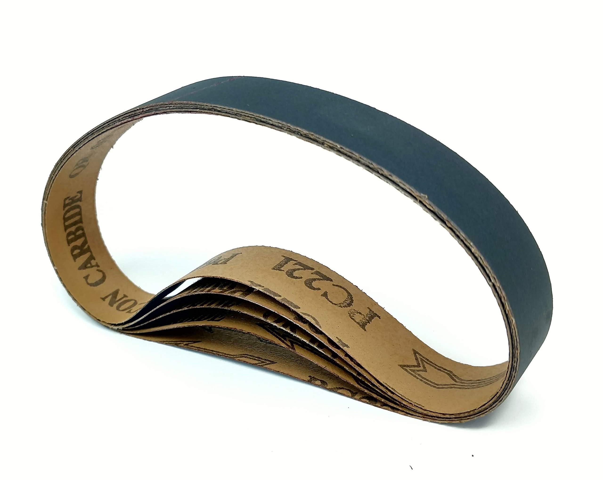 """10 pk Silicon Carbide fits Ken Onion Attachment 1""""X18"""" 120 Grit Sanding Belts"""