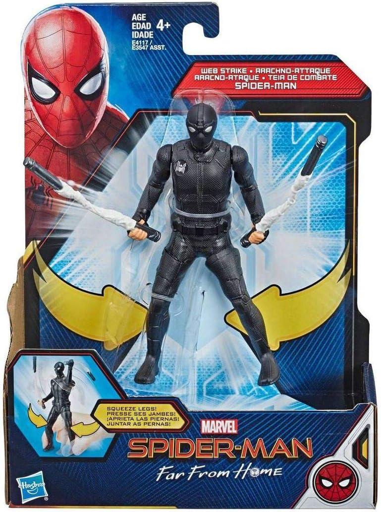 Hasbro Marvel Spider-Man- Juego Far from Home MOV Web Strike ...