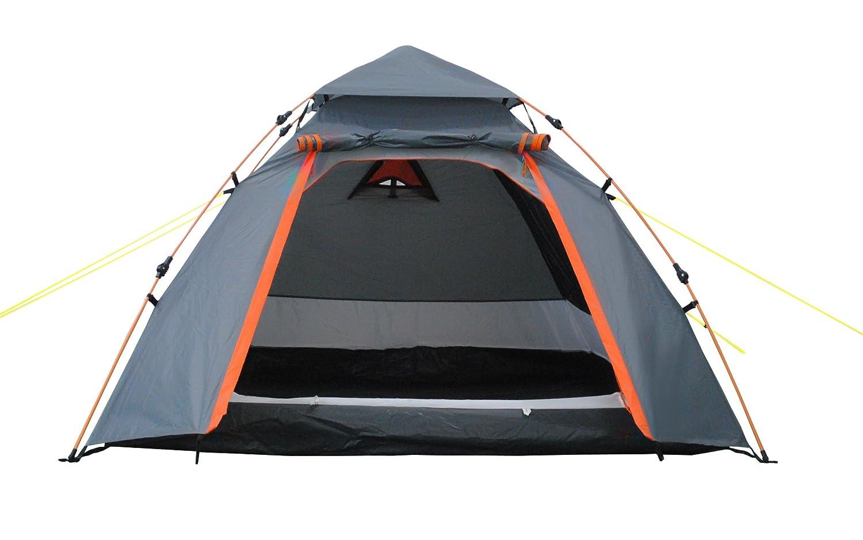 Lumaland Tienda de campa/ña Abovedada Light Pop Up Ligera para 3 Personas Camping Acampada Festival 215 x 195 x 120 cm Azul