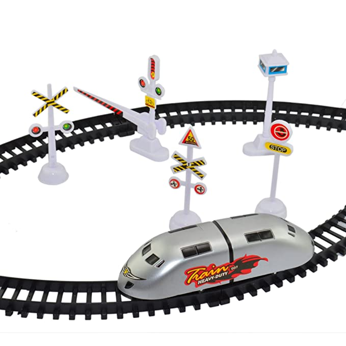 Infinxt High Speed Metro Train With Track & Signal Accessories Battery Operated-Best-Popular-Product