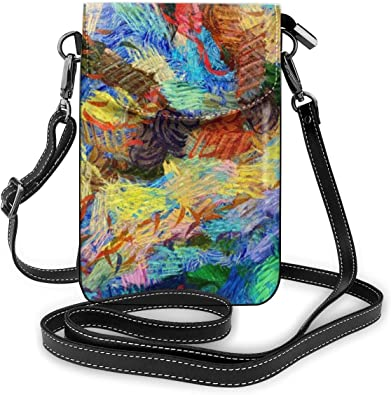 Graffiti art Small Crossbody Bag Cell Phone Purse Smartphone Wallet with Shoulder Strap Handbag for Women