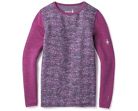 7ad0209a1 Amazon.com: SmartWool Unisex Mid 250 Pattern Crew (Little Kids/Big Kids):  Clothing