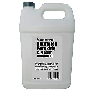 Amazoncom Blubonic Industries Food Grade Hydrogen Peroxide 35
