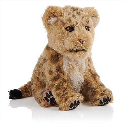 WowWee Alive White Tiger Cub Alive Lion Cub Alive Cub Interactive Plush Cub NEW