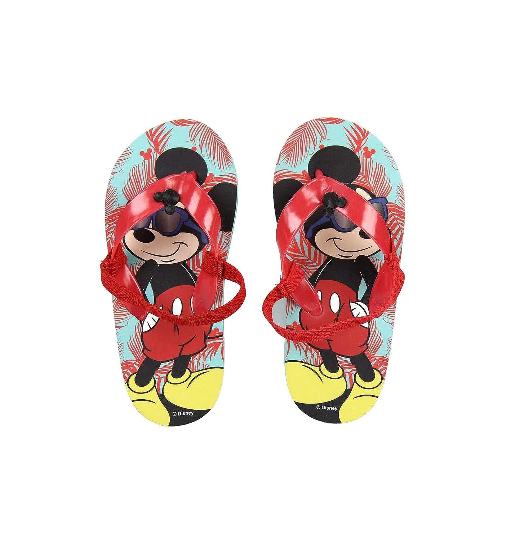 Tongs avec élastique Enfant garçon Disney Mickey Bleu/Rouge du 24 au 27
