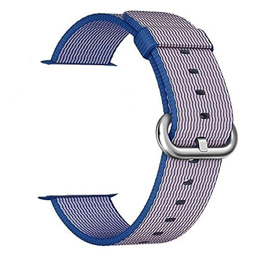 121 opinioni per Cinturino Smart Watch, ZRO Premium Nylon Woven Ricambio Cinturino Orologio