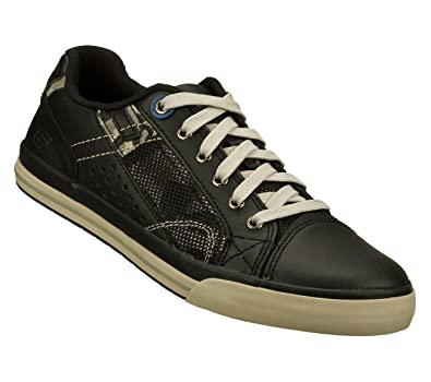 Skechers Mens Black Relaxed Fit