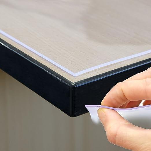 11 opinioni per Lamina protettiva per tavolo, 2 mm, trasparente, larghezza 80 cm, lunghezza a