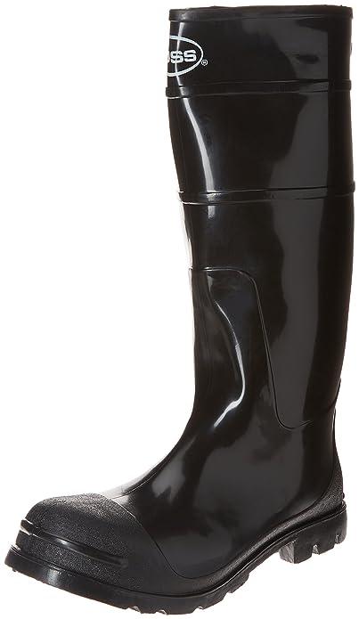 9654ab946c14e Men's PVC Knee Boot by Boss in Black