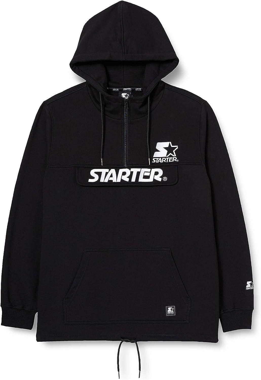 STARTER BLACK LABEL Starter The Classic Logo Fleece Hoody Sudadera con Capucha para Hombre
