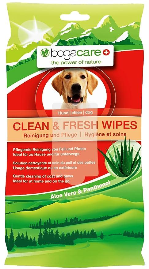Bogar AG bogacare toallitas limpia y fresca para perros, 15 unidades