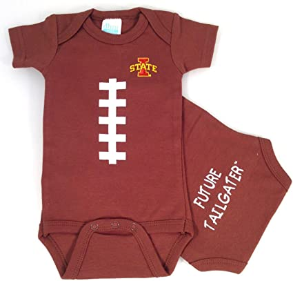 12 Months Future Tailgater Iowa State Cyclones Baby Football Onesie
