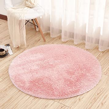 Noahas 4 Feet Luxury Round Area Rugs Super Soft Living Room Bedroom Carpet  Woman Yoga