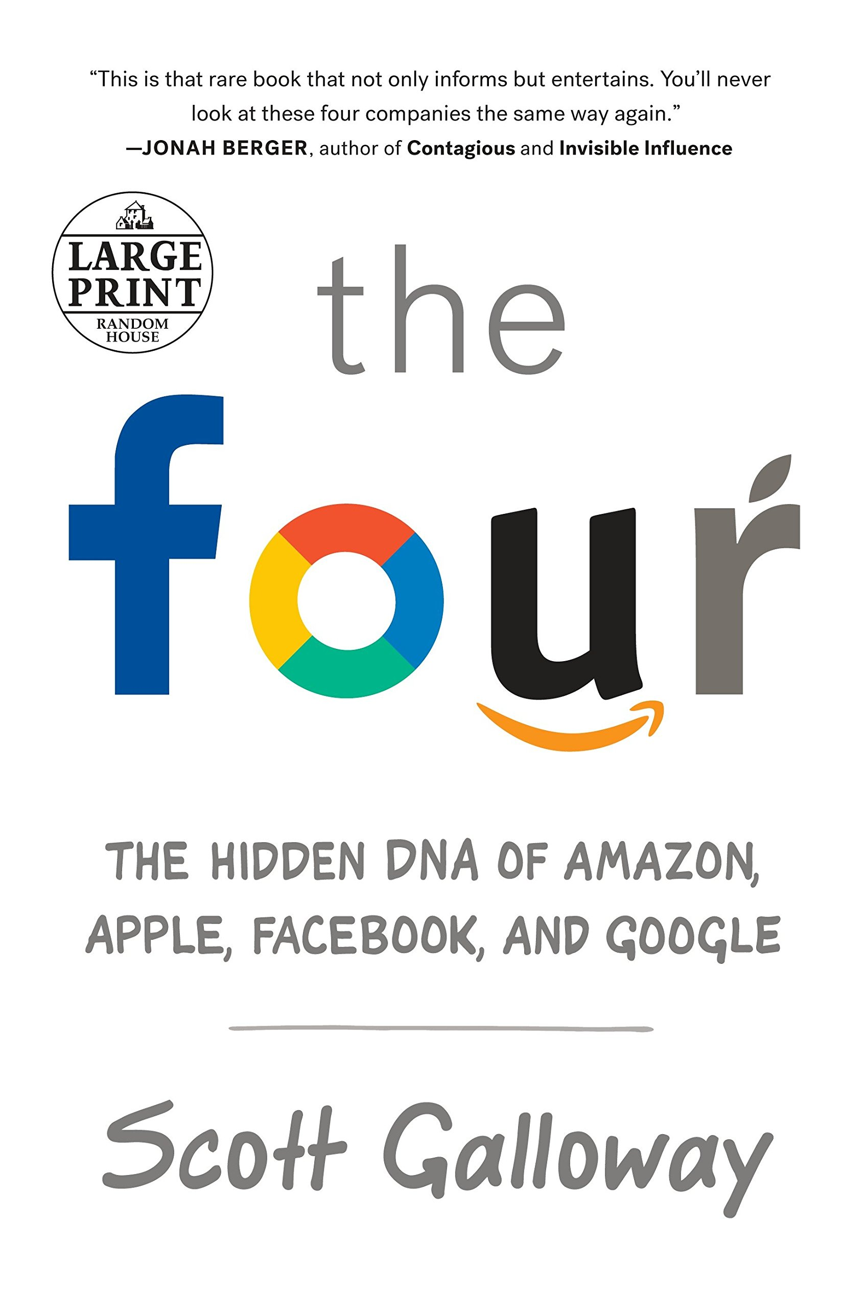 The Four The Hidden Dna Of Amazon Apple Facebook And Google