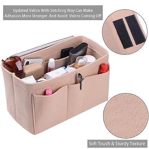 Amazon.com: Purse Organizer Insert, Felt(3MM) Fabric Bag ...