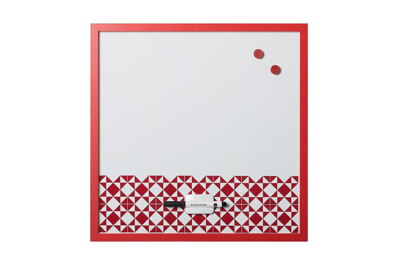 Bi-Office, Whiteboard Geometrische Kacheln, magnetisch, trocken ...