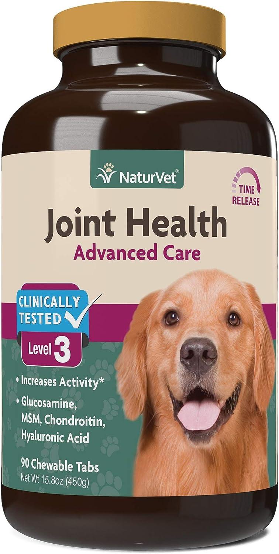 NaturVet Joint Health Time Release Level-3 Supreme Hip & Joint Dog Supplement