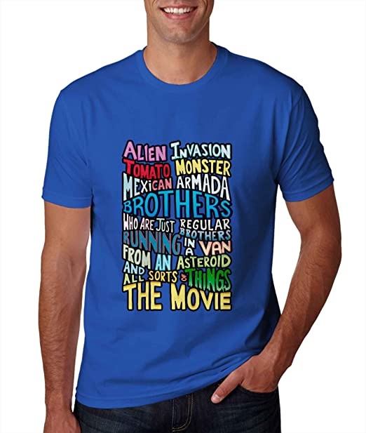 Rick y Morty dos hermanos handlettered Quote Camiseta para hombre: Amazon.es: Ropa y accesorios