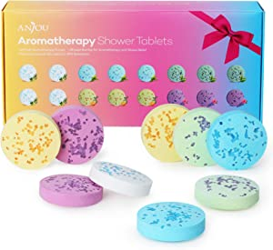 Shower Bomb Tablets Aromatherapy Steamers Gift for Women Bath Bombs with Pure Essential Oils 16-Piece Shower Fizzers Melts Vapor Gift for Stress Relief, Relaxation, Women Home Spa Birthday Gift Set