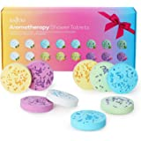 Shower Bomb Tablets Aromatherapy Bath Bombs with Pure Essential Oils 16-Piece Shower Fizzers Streamers Melts Vapor for Home S