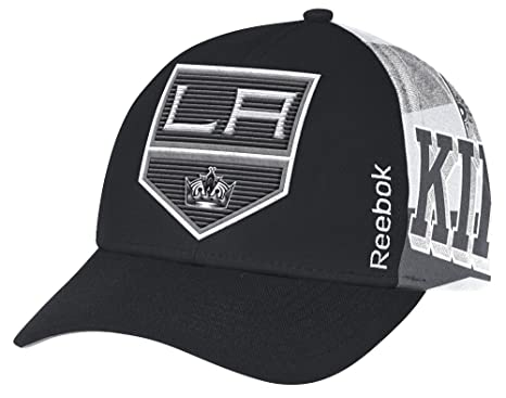 timeless design 65653 b1bdf Reebok Los Angeles Kings NHL Official Playoff Structured Adjustable Hat