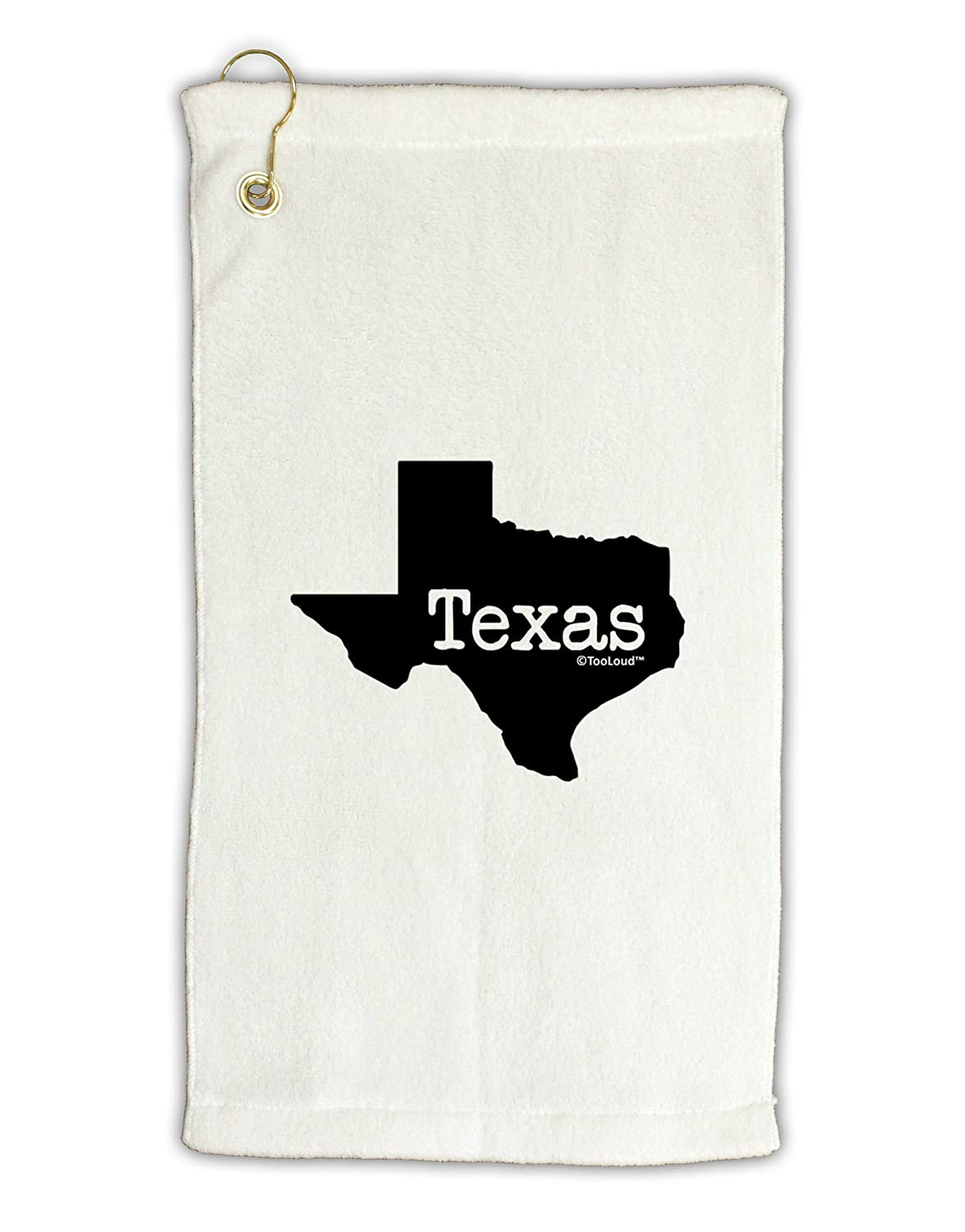 TooLoud Texas – United States形状Micro Terry Grometゴルフタオル11