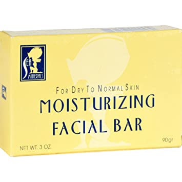 Sea Minerals Moisturizing Facial Bar - 3 oz Jean Pierre Cleansing Towelettes, Lemon Verbena, 8 Ct