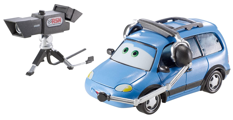 Disney Cars Deluxe Race Fans Benny Brakedrum Mattel CJN11