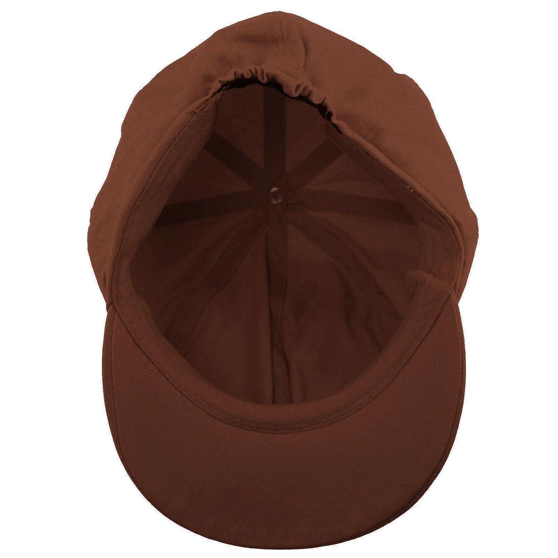 05ed69d5 Summer 100% Cotton Plain Blank 8 Panel Newsboy Gatsby Apple Cabbie Cap Hat  Black at Amazon Women's Clothing store: