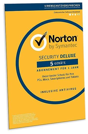 Norton Security Deluxe 2019   5 Geräte   1 Jahr   PC/Mac/iOS/Android   Download
