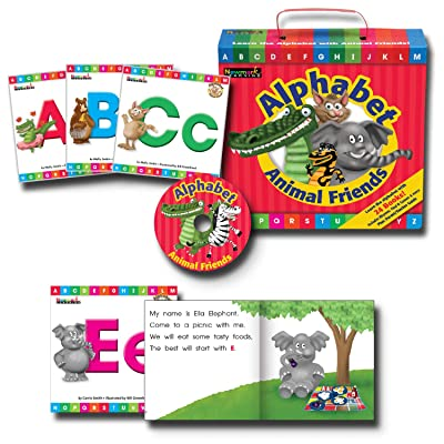 Newmark Learning Early Readers Boxed Set, Alphabet Animal Friends: Various: Toys & Games